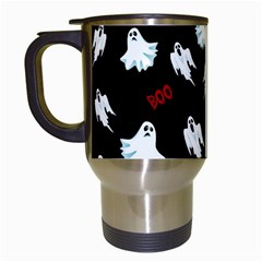 Ghost Pattern Travel Mugs (white)