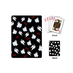 Ghost Pattern Playing Cards (mini)