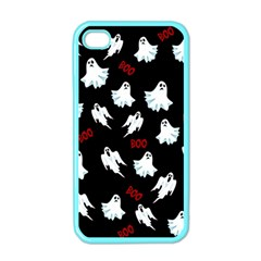 Ghost Pattern Apple Iphone 4 Case (color)