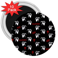 Death Pattern   Halloween 3  Magnets (10 Pack)