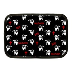Death Pattern   Halloween Netbook Case (medium)