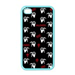 Death pattern - Halloween Apple iPhone 4 Case (Color) Front