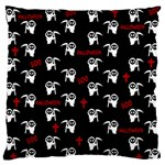 Death pattern - Halloween Standard Flano Cushion Case (One Side) Front