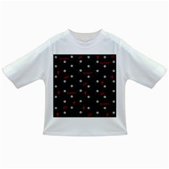 Death Pattern   Halloween Infant/toddler T Shirts