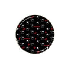 Death Pattern   Halloween Hat Clip Ball Marker