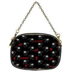 Death Pattern   Halloween Chain Purses (two Sides)