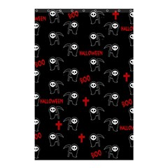 Death Pattern   Halloween Shower Curtain 48  X 72  (small)