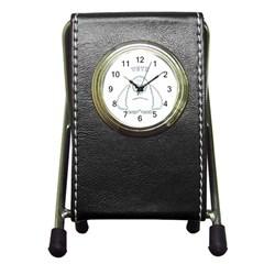 Yeti Pen Holder Desk Clocks