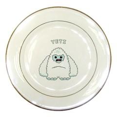 Yeti Porcelain Plates