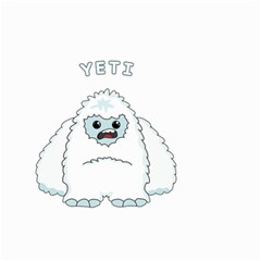 Yeti Small Garden Flag (two Sides)