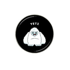 Yeti Hat Clip Ball Marker (4 Pack)