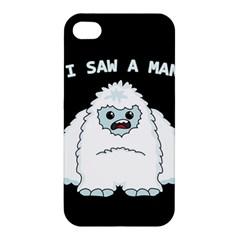 Yeti   I Saw A Man Apple Iphone 4/4s Hardshell Case