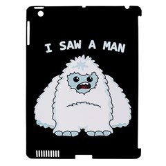 Yeti   I Saw A Man Apple Ipad 3/4 Hardshell Case (compatible With Smart Cover)