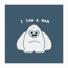 Yeti   I Saw A Man Medium Glasses Cloth