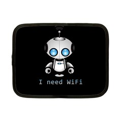 Cute Robot Netbook Case (small)