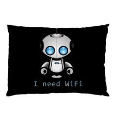 Cute Robot Pillow Case