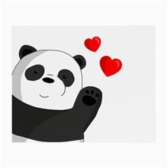 Cute Panda Small Glasses Cloth (2 Side)