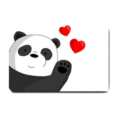 Cute Panda Small Doormat