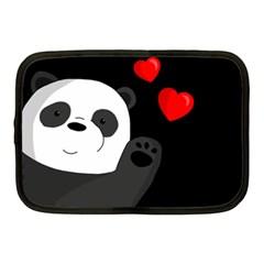 Cute Panda Netbook Case (medium)