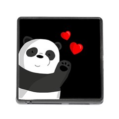 Cute Panda Memory Card Reader (square)