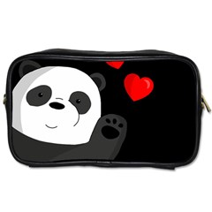 Cute Panda Toiletries Bags 2 Side