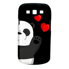 Cute Panda Samsung Galaxy S Iii Classic Hardshell Case (pc+silicone)