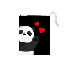 Cute Panda Drawstring Pouches (small)
