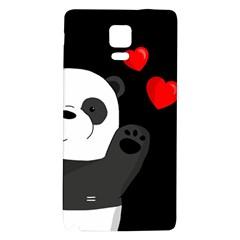 Cute Panda Galaxy Note 4 Back Case