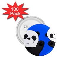 Cute Pandas 1 75  Buttons (100 Pack)