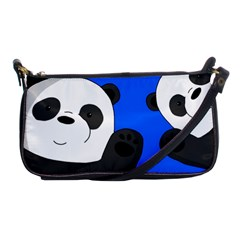 Cute Pandas Shoulder Clutch Bags