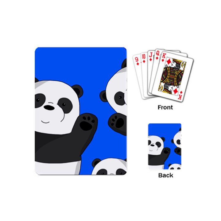 Cute pandas Playing Cards (Mini)