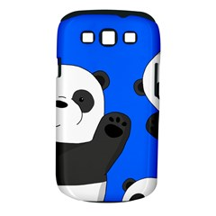 Cute Pandas Samsung Galaxy S Iii Classic Hardshell Case (pc+silicone)