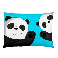 Cute Pandas Pillow Case