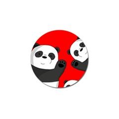 Cute Pandas Golf Ball Marker (4 Pack)