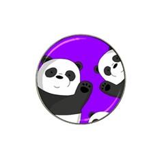 Cute Pandas Hat Clip Ball Marker