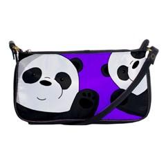 Cute Pandas Shoulder Clutch Bags