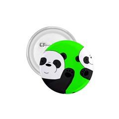 Cute Pandas 1 75  Buttons