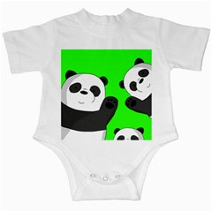 Cute Pandas Infant Creepers