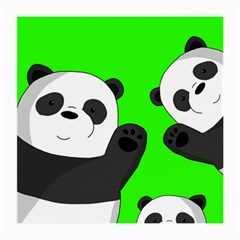 Cute Pandas Medium Glasses Cloth