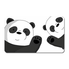 Cute Pandas Magnet (rectangular)