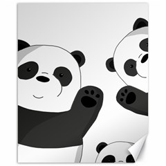 Cute Pandas Canvas 16  X 20