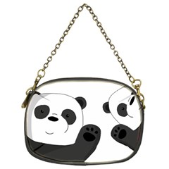 Cute Pandas Chain Purses (two Sides)