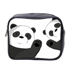 Cute Pandas Mini Toiletries Bag 2 Side