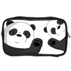 Cute Pandas Toiletries Bags