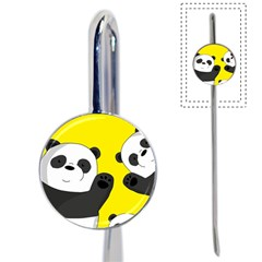 Cute Pandas Book Mark