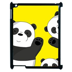 Cute Pandas Apple Ipad 2 Case (black)