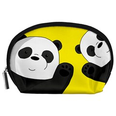 Cute Pandas Accessory Pouches (large)