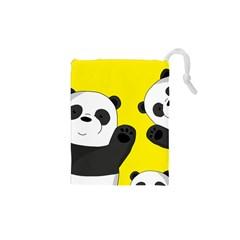 Cute Pandas Drawstring Pouches (xs)