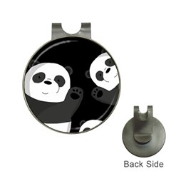 Cute Pandas Hat Clips With Golf Markers