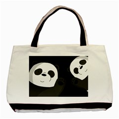 Cute Pandas Basic Tote Bag